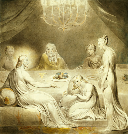 William_Blake_1757-1827_Martha_and_Mary